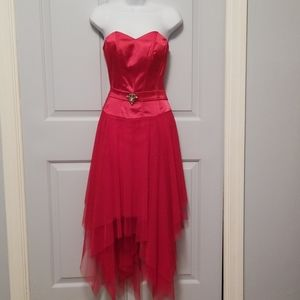 Strapless Holiday Cocktail Dress